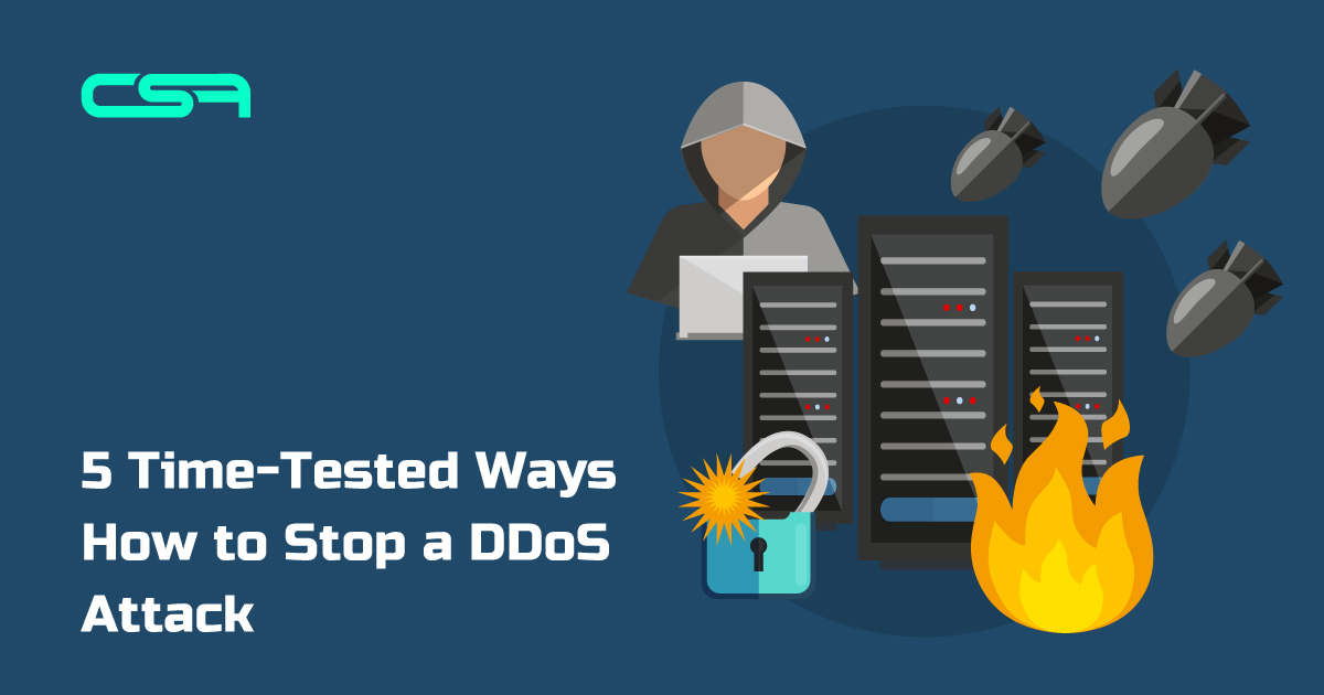 Tips on how to stop DDoS attack